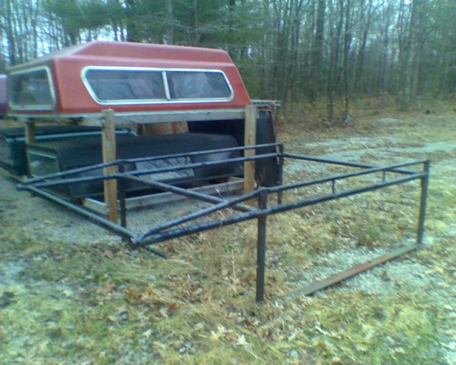 DODGE RAM LADDER RACK